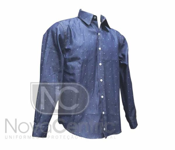 36d0febec2 Camisa Jeans Masculina - Nova Centric